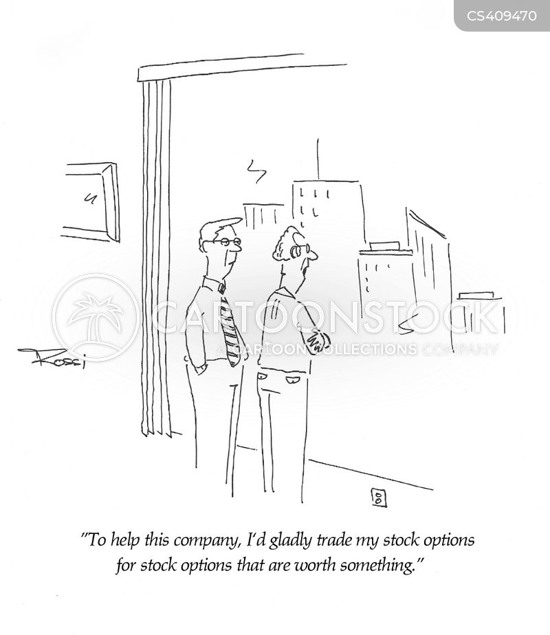 investment opportunity cartoon