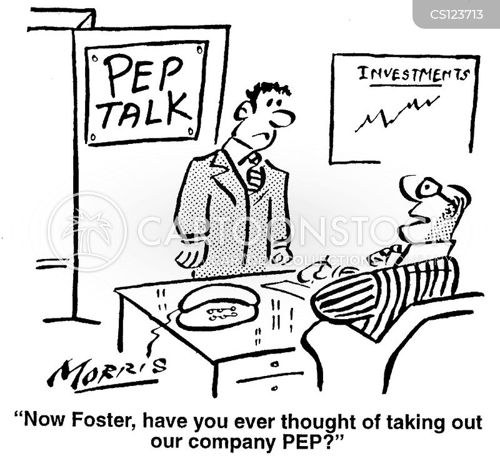 pep cartoon
