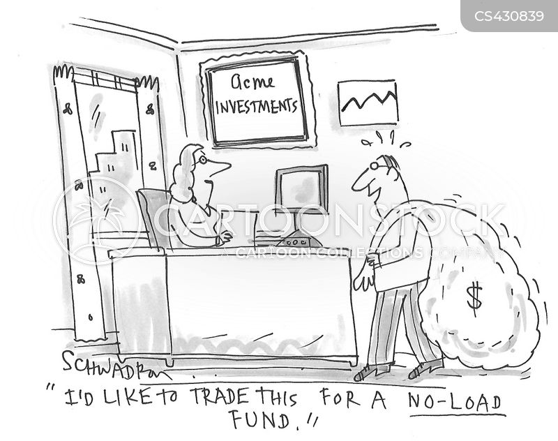 investment strategy cartoon