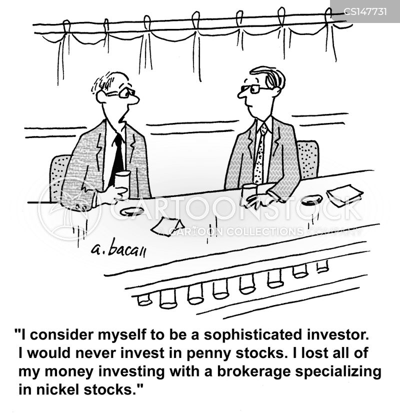 Penny Stock Cartoons and Comics - funny pictures from