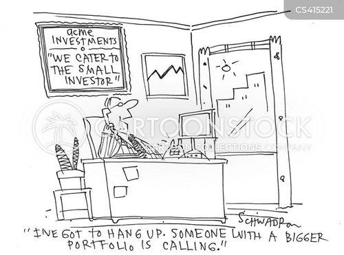 small investors cartoon