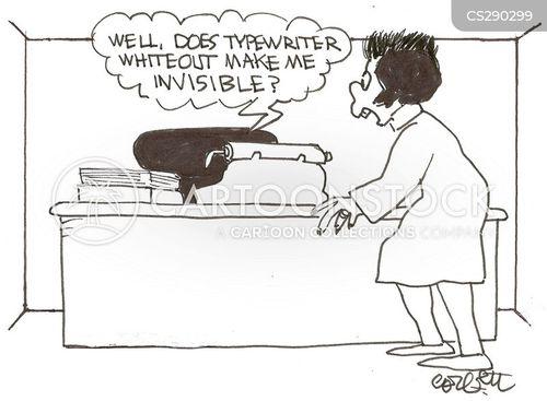 whiteout cartoon