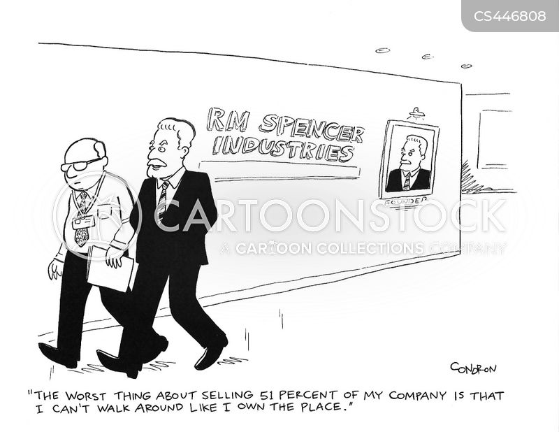 controlling interests cartoon