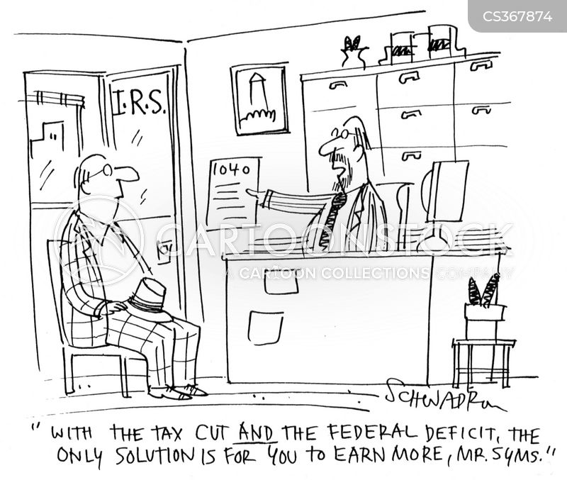fiscal deficit cartoon