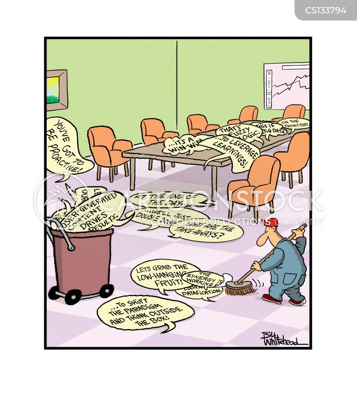 business speech cartoon