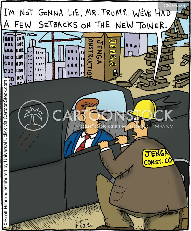 building site cartoon