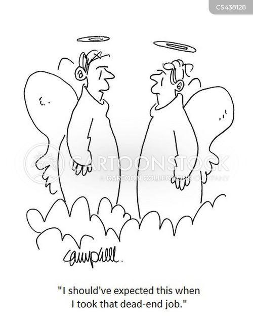 dead end job cartoon