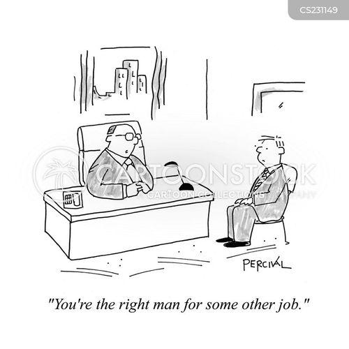 work opportunity cartoon