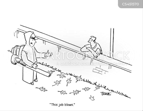 blower cartoon