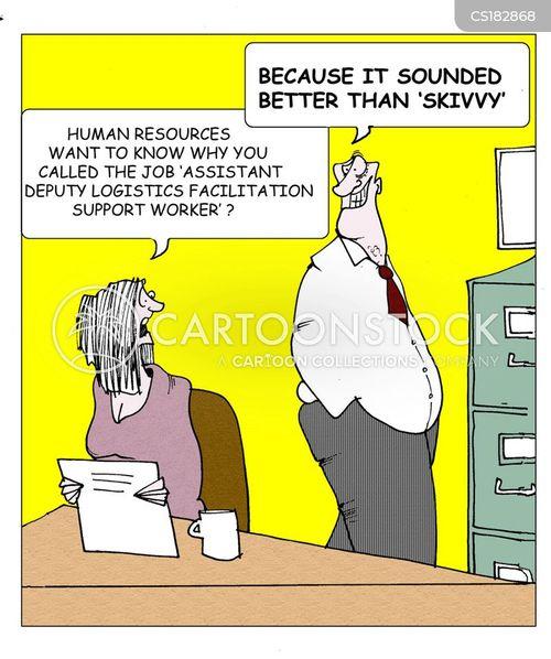 job specs cartoon