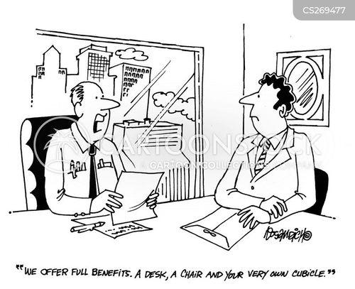 perk of the job cartoon