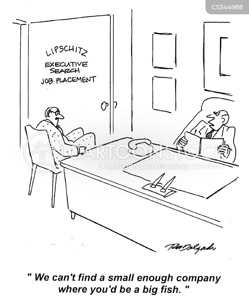 job placements cartoon