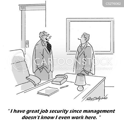 job insecurities cartoon