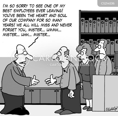 big company cartoon