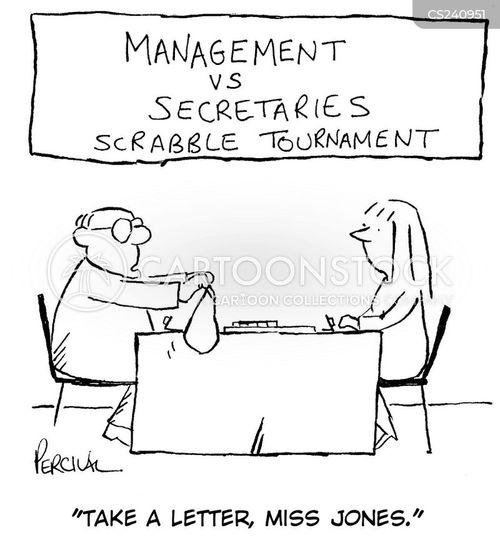 dictation cartoon