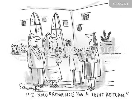 marriage ceremonies cartoon
