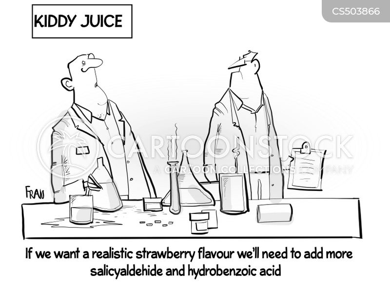 artificial flavor cartoon