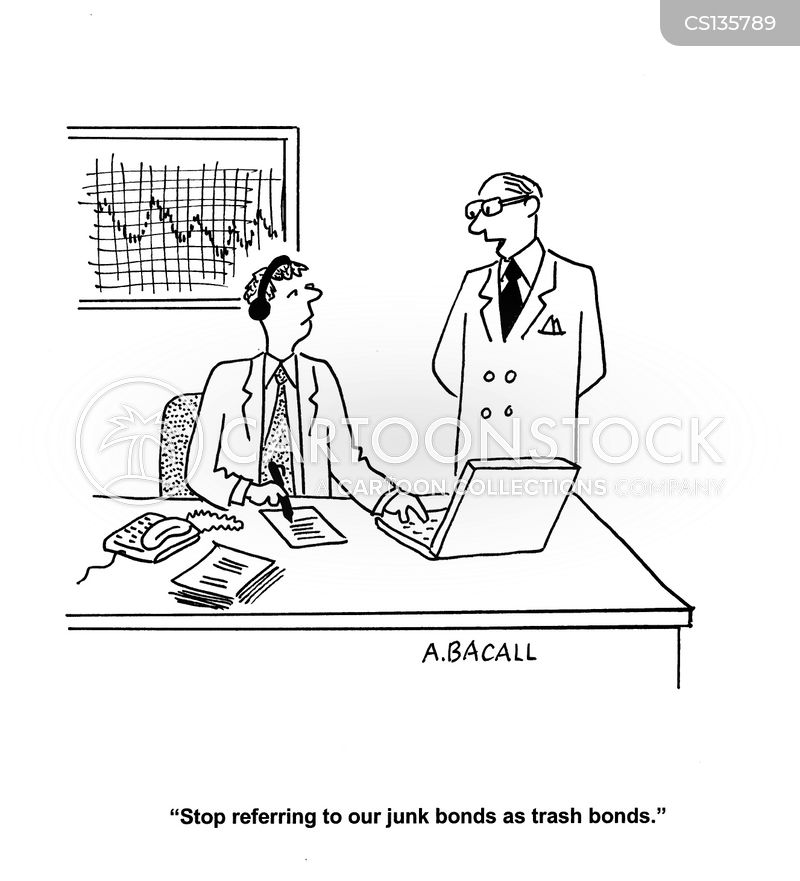 junk bonds cartoon