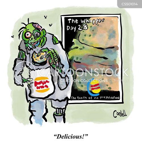moldy cartoon