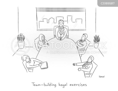 team-player cartoon