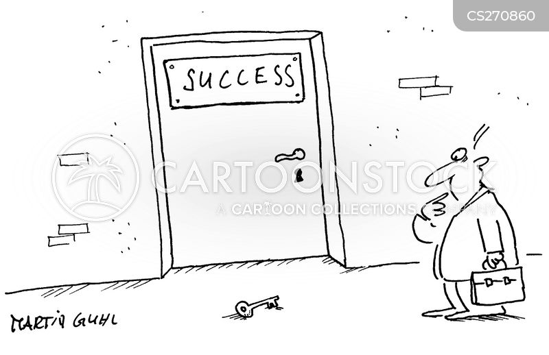 succeeding cartoon