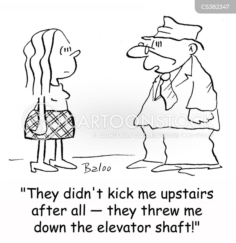 elevator shafts cartoon