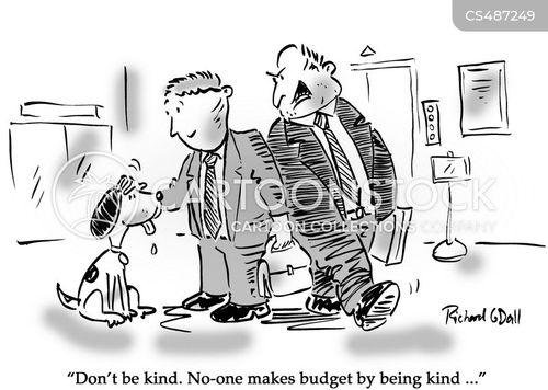 unkind cartoon