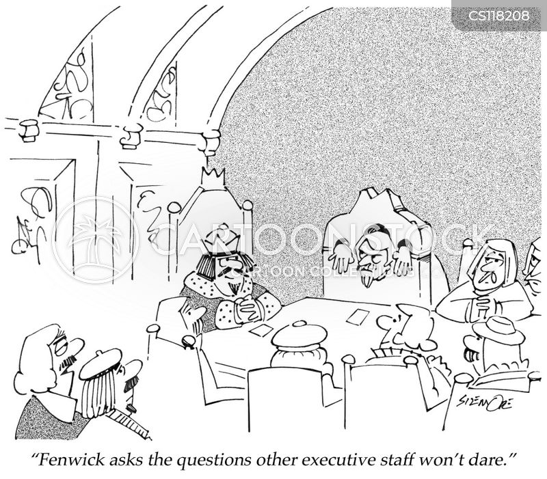 conference room cartoon
