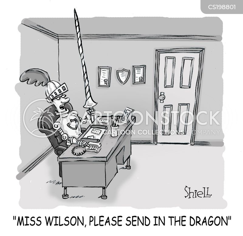 dragon slayers cartoon