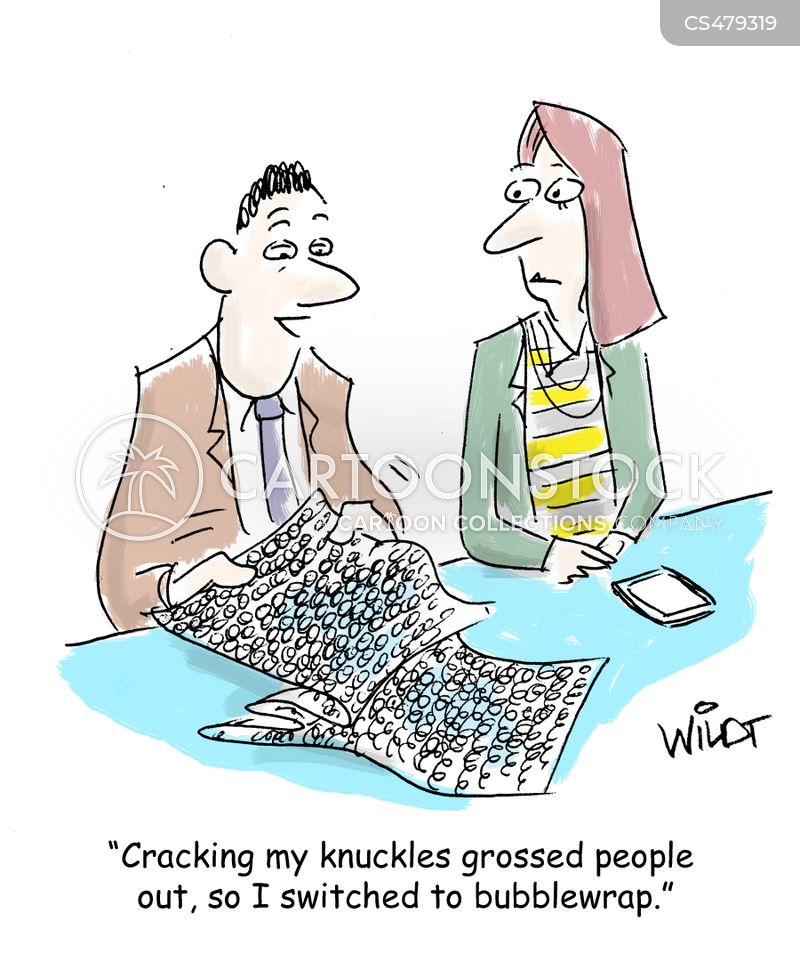 knuckle crackers cartoon