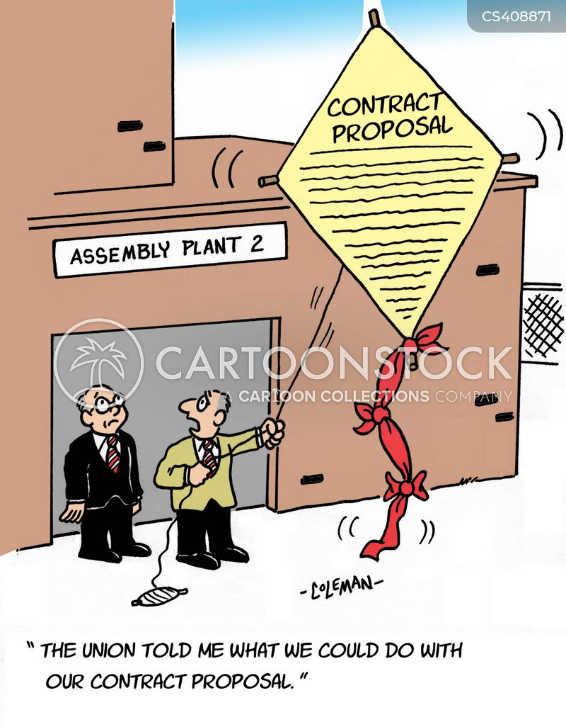 Contract Proposals Cartoons And Comics  Funny Pictures From