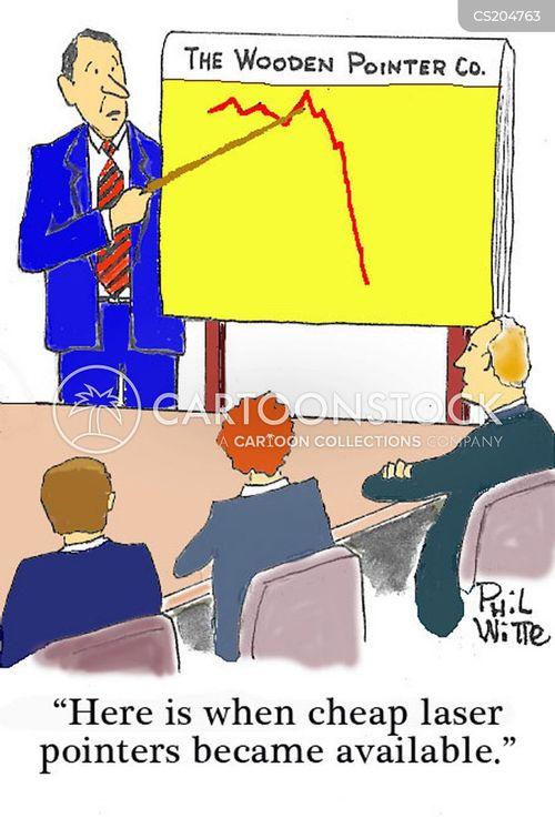 pointer cartoon