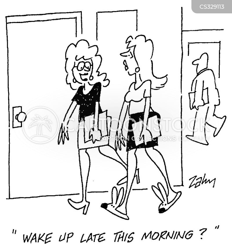 morning routines cartoon