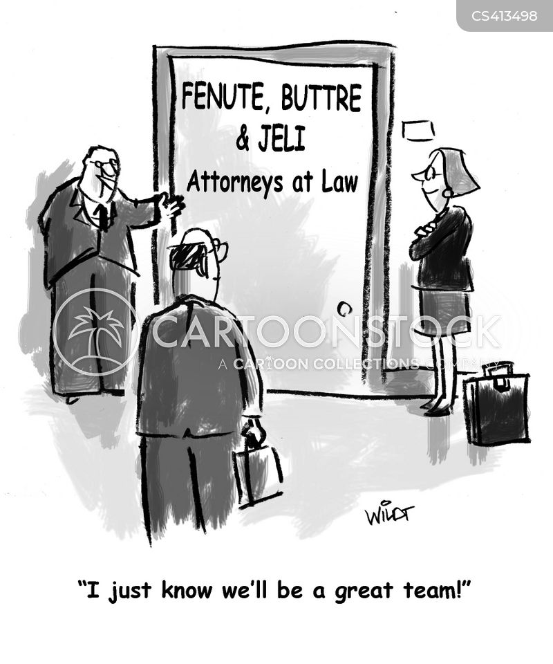 law company cartoon