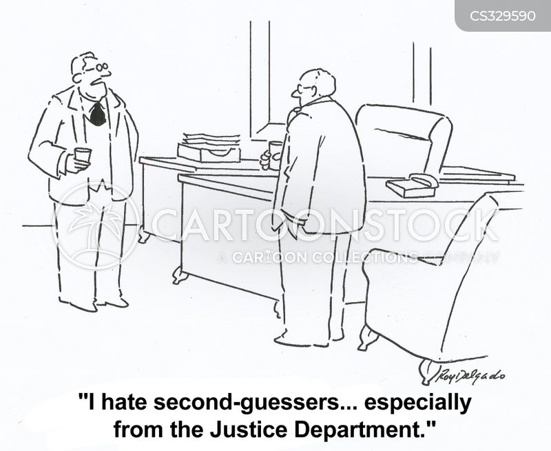justice department cartoon