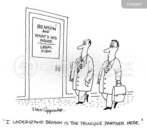 attorney-at-law cartoon