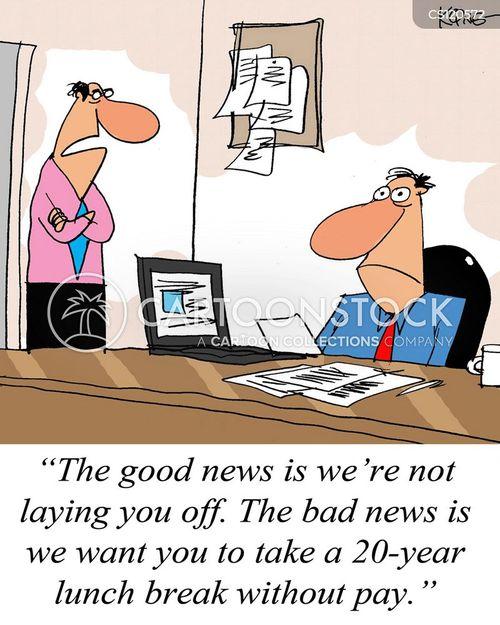 unpaid cartoon