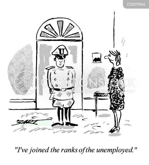 military man cartoon
