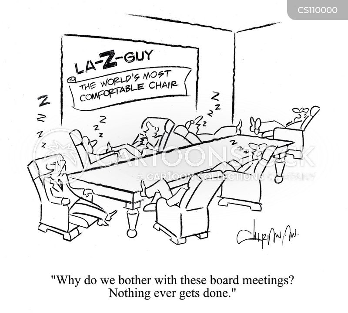 office meetings cartoon