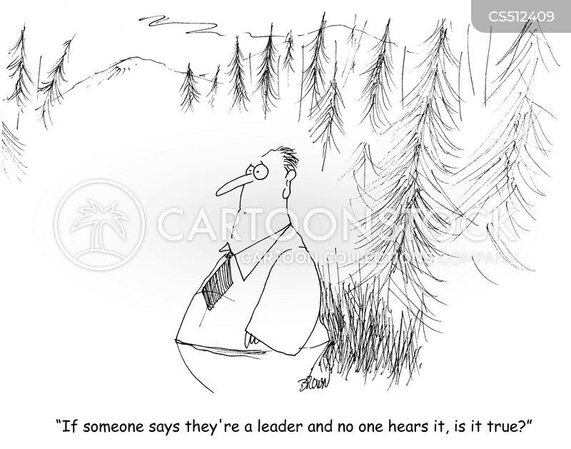 thought leader cartoon