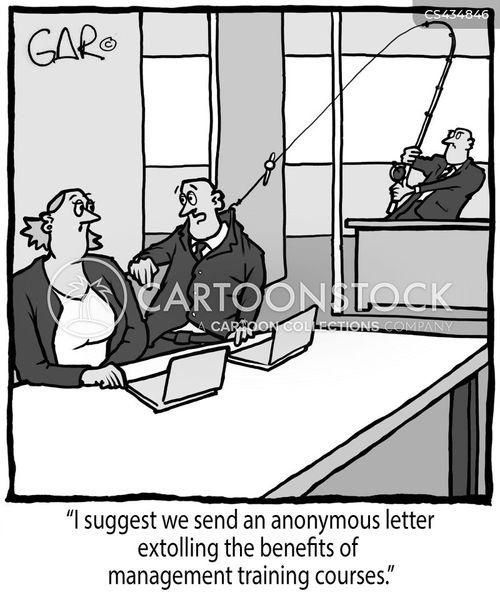 management course cartoon