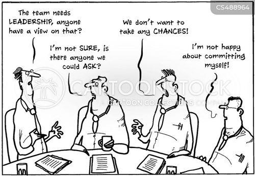 poor management cartoon
