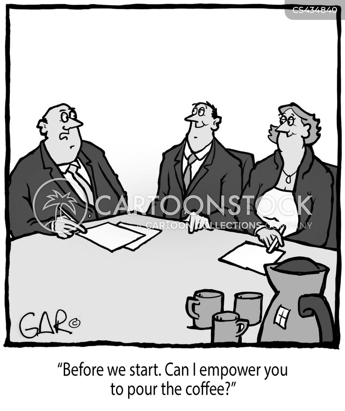 empowered cartoon
