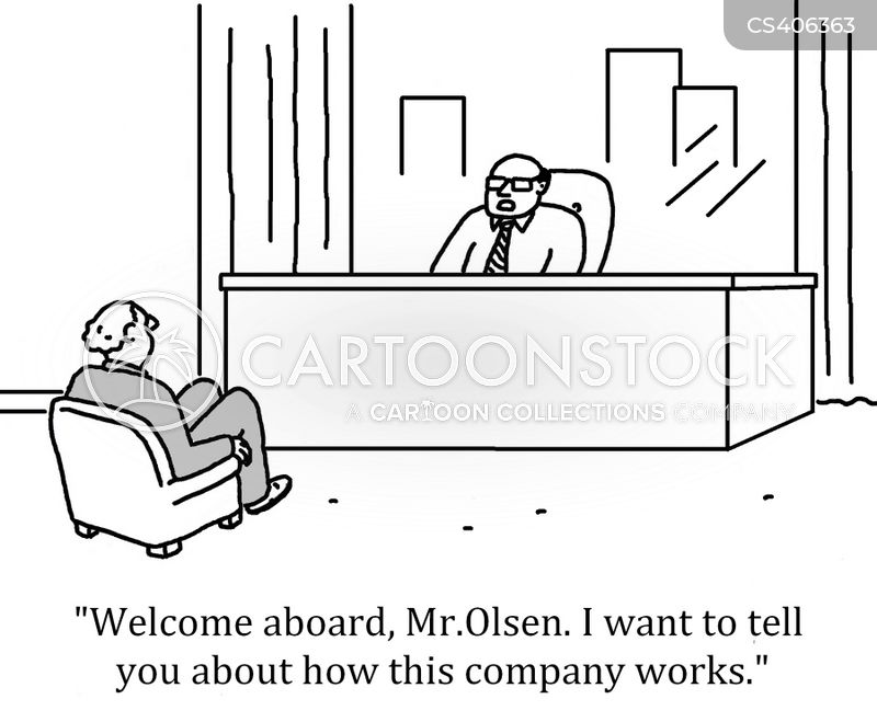 business structure cartoon