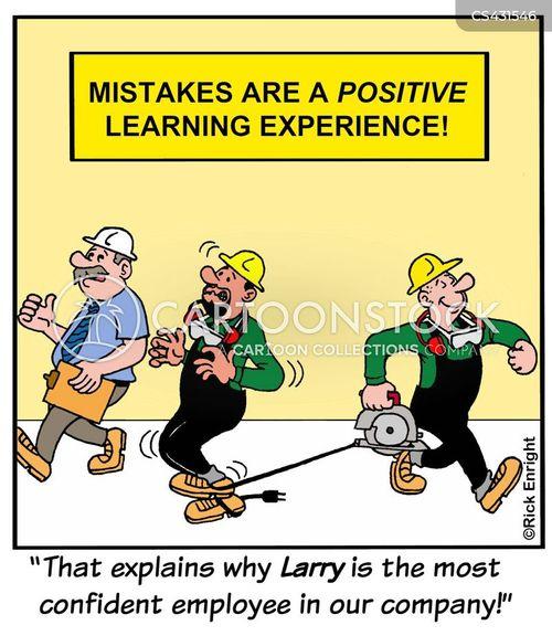 accident prone cartoon