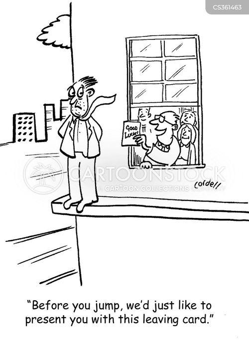 voluntary redundancy cartoon