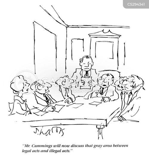 illegalities cartoon