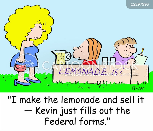 federal form cartoon