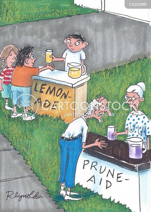 prune cartoon