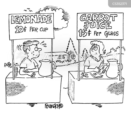 carrot juice cartoon